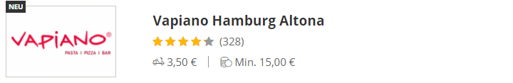 VAPIANO Hamburg Altona
