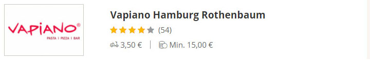 VAPIANO Hamburg Rothenbaum