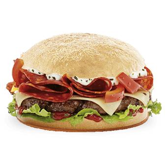Burgerme Angus Chorizo Burger