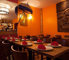 Luck indisches Restaurant innen