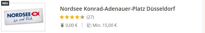 NORDSEE Konrad-Adenauer-Platz Düsseldorf
