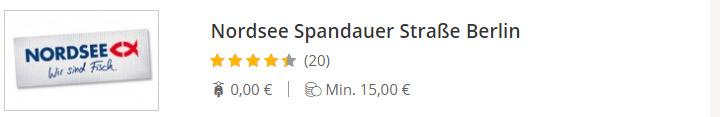 NORDSEE Spandauer Straße Berlin