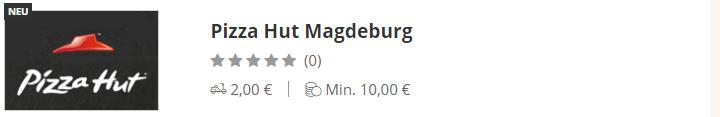 Pizza Hut Magdeburg