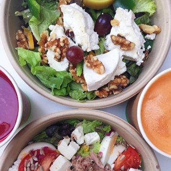 Salat bestellen