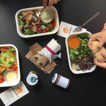 Vegetarischer Lieferservice